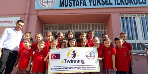 Mustafa Yükel İlkokulu öğrencileri etwinning projesi başlattı