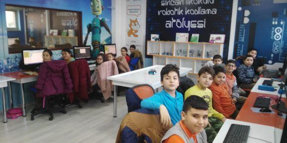 RObotik-kodlama atölyemiz