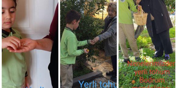 Çocuk Çiftçilerle Doğal Tarım