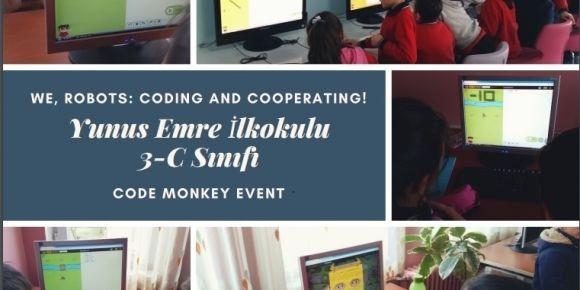 Yunus Emre İlkokulu öğrencileri kodlama etkinlikleri ile kod yazmayı öğrendiler.