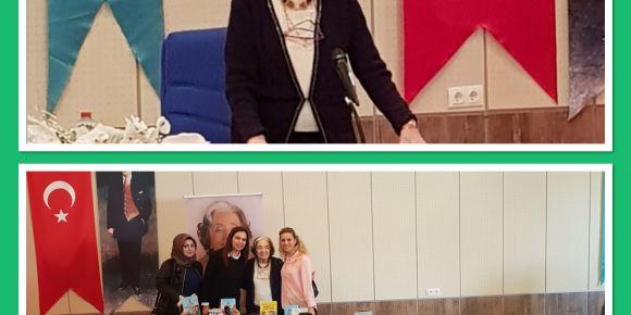 Çocuk kitapları yazarı Gülten Dayıoğlu'nun imza ve söyleşi günü etkinliği