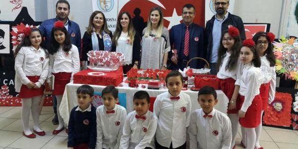 Küçük yüreklerde büyük vatan sevgisi ulusal sergisine katıldık