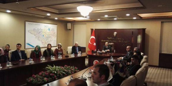 Yozgat Valimiz Sayın Kemal Yurtnaç'a Kodluyoruz projesi sunumu yapıldı