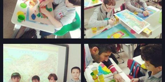 Şehit Mehmet Güder öğrencileri yaparak yaşayarak öğreniyor