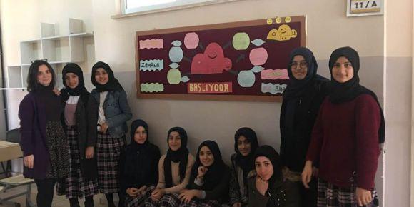 Çınar Kız Anadolu İmam Hatip Lisesi Kültürel Zaman Yolculuğu eTwinning projesinde