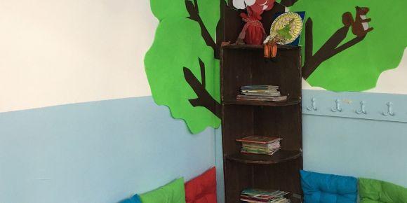 Aydın Didim Valiler İlkokulu 2_C sınıfı okuma köşesi