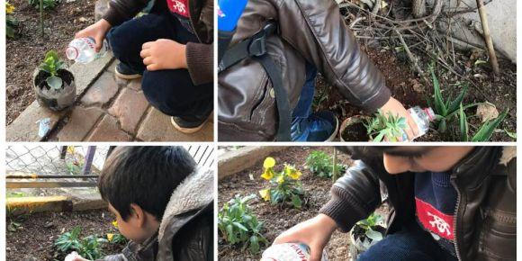 Çiçek sulama sorumluluğumuz