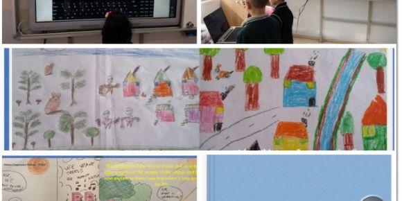 Türk ve İtalyan öğrencilerin hikaye kitabı işbirliği