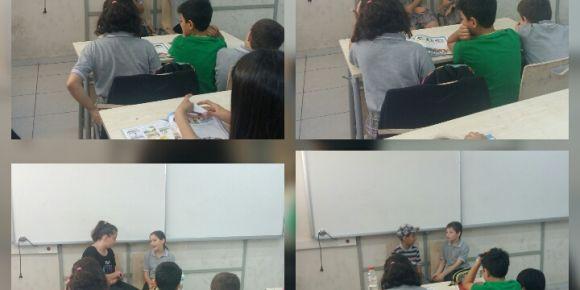Didim Efeler Ortaokulu 5C Sınıfı öğrencilerinden Making Suggestion