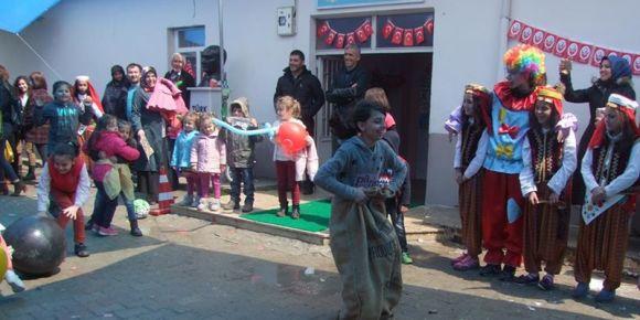 Burhaniye Köyünde 23 Nisan coşkusu
