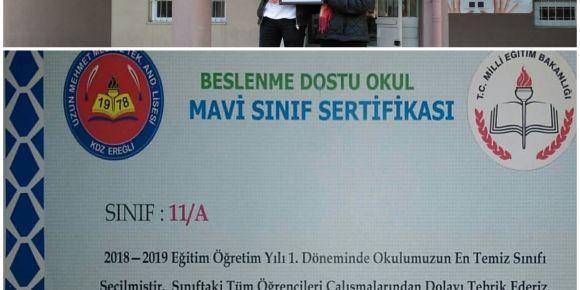 Uzun Mehmet Mesleki ve Teknik Anadolu Lisesi Mavi Sınıfını Seçiyor