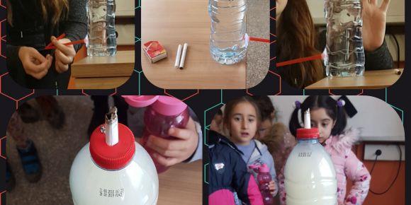 Sınıfım Laboratuvar Projesi sigaranın sağlığımıza zararları deneyi