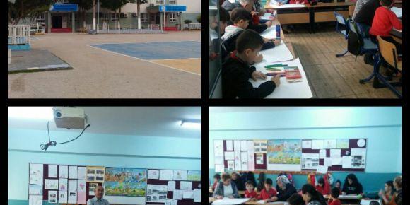 Nigahi Soykan İlkokulu 2-M sınıfı ''Velimle Resim Yapıyorum'' Projesi