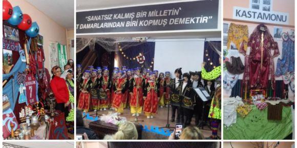 Sanayiciler İlkokulu Karadeniz Tanıtım Günleri etkinliği