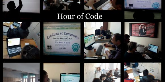 CO.D.E 4 all projesi kapsamında Hour of Code etkinliği yaptık