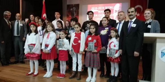 İstiklal Marşı'nı En Güzel Ben Okurum Bölge Finalinde öğrencimiz birinci oldu