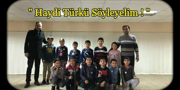 """""""Haydi Türkü Söyleyelim!"""" projemiz"""