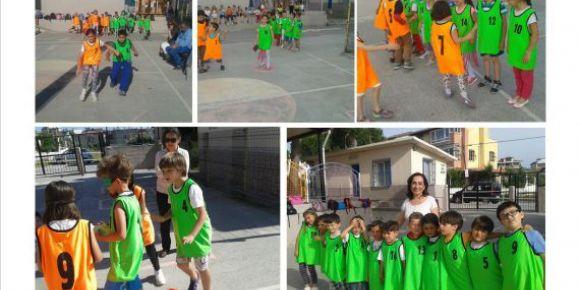 Urla Jale Necdet Özbelge İlkokulunda geleneksel çocuk oyunları şenliği yapıldı