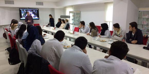 Yunus Çiloğlu MTAL kimya öğrencilerinden ilaç fabrikasına gezi