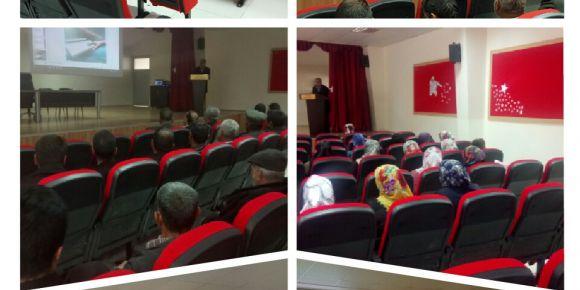 Yavuzeli İmam Hatip Ortaokulunda velilere yönelik seminer programı