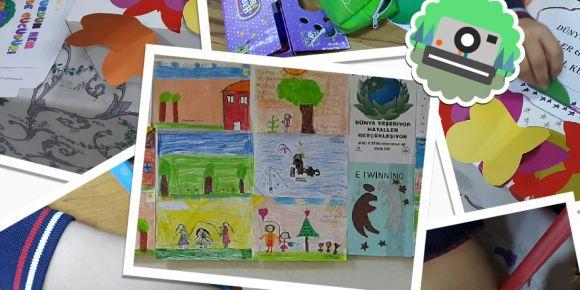 Konya Hediye Mehmet Ali Uzman İlkokulu 3/A sınıfı proje kapsamında hayallerini yazdılar.