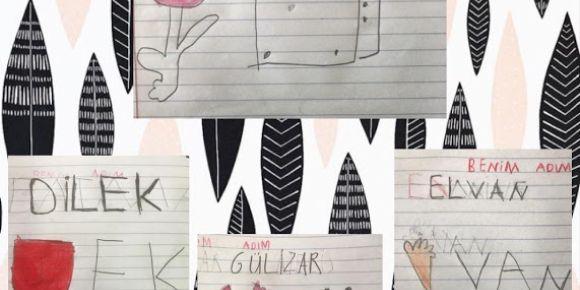 Koçarlı Atatürk İlkokulu 2a Sınıfı eTwinning Resfebilmece projesi yapıyor