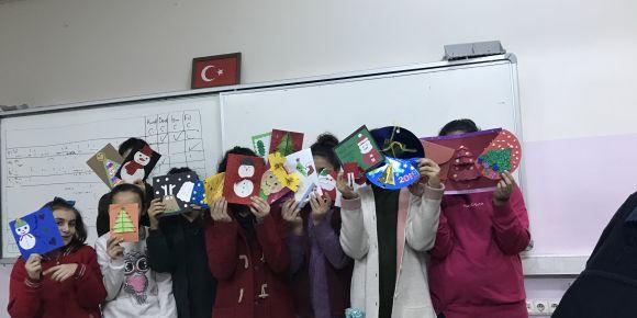Şehit Birkan Gündüz Ortaokulu Yeniyıla İyi Dileklerle Girdi