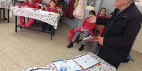 Yerel yazarımız Selahattin Demiraco sınıfımızda