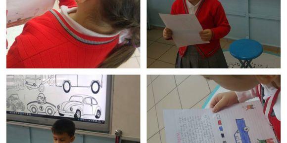 Taşıtlar konulu hikaye yazdık okuduk