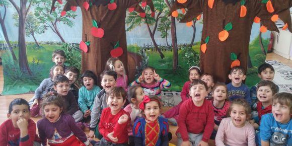 Beslenme Dostu Okul Projesi meyve ağacı etkinliği
