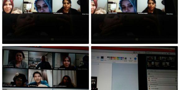 Web 2.0 ile İlkokuma ve Yazma Öğretimi proje toplantısı