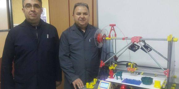 Çanakkale Mesleki ve Teknik Anadolu Lisesi 3D yazıcı yaptı