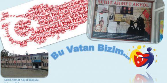 E-Twinning Projemiz Şehit Ahmet Akyol İlkokulu Sakarya /Adapazarı