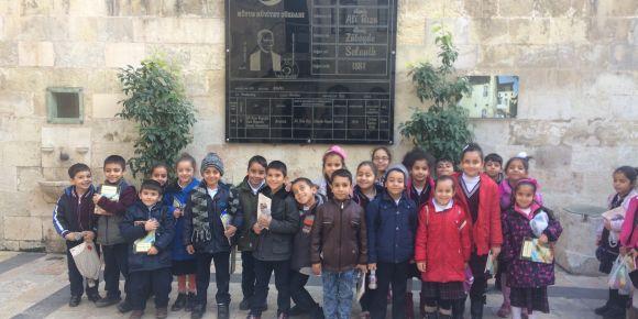Düztepe İlkokulu 2. sınıf öğrencileri Gaziantep'in müzelerini gezdi