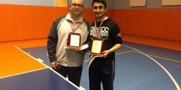 Yunus Çiloğlu MTAL öğretmenleri masa tenisinde şampiyon