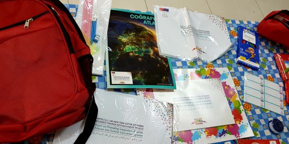 Suriyeli öğrencilerimize kırtasiye ürünleri dağıtıldı