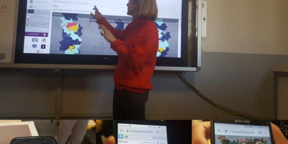 Neriman Erol Yılmaz Sosyal Bilimler Lisesi e Twinning kulübü projeleri