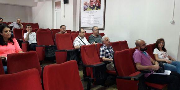 TÜBİTAK Bilim Fuarı toplantısı yapılmıştır