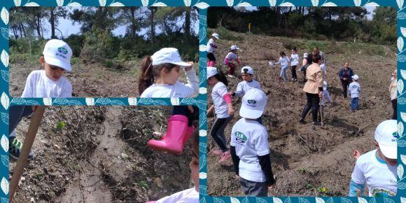 Orman İşletme Genel Müdürlüğü ile ağaç dikme etkinliğimiz