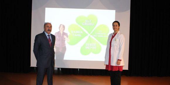 Diyabet ve sağlıklı beslenme semineri
