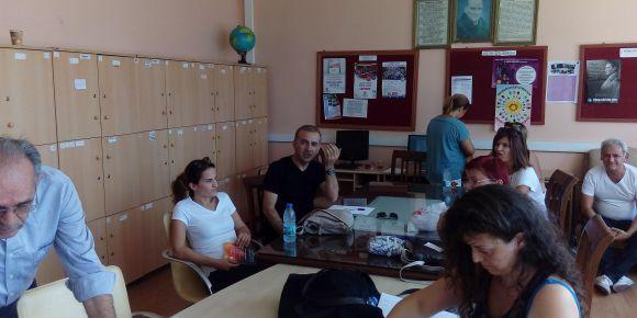 İstanbul Kadıköy Lisesi'nde Değerler Eğitimi toplantısı