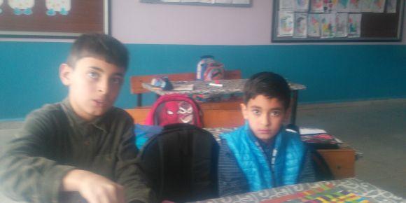 Suriyeli öğrencilerimizle etkinlik yaptık