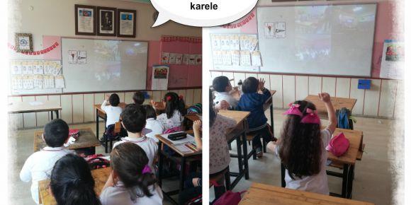 Namık Kemal İlkokulu Her Harf Grubuna Bir Lapbook eTwinning Projesi tanışma webinarı