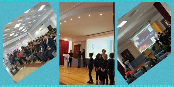 28 Şubat Nadir Hastalıklar Gününde okulumuz ev sahipliği yaptı