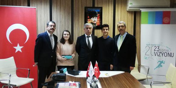 Bursa İl Milli Eğitim Müdürlüğü Kırcalı MTAL'i Ödüllendirdi.