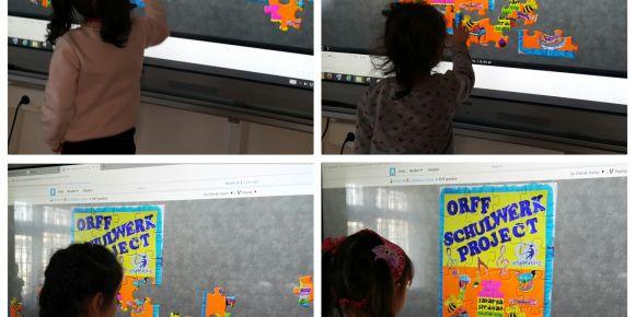 Orff Schulwerk Project öğrencileri teknolojiyi verimli kullanıyor