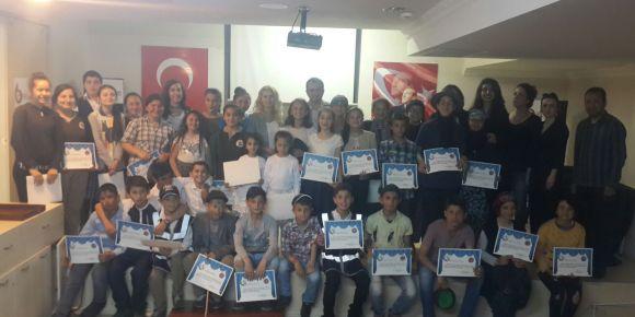Karadeniz Ereğli'de köy okulu öğrencilerinden muhteşem performans