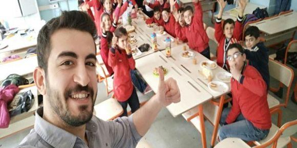 Nizip İslim Sayın Ortaokulu 5/A sınıfı ögrencileri yerli malı haftasını  kutladılar