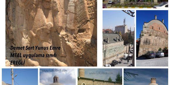 Tarihi yapılarımızı inceliyoruz