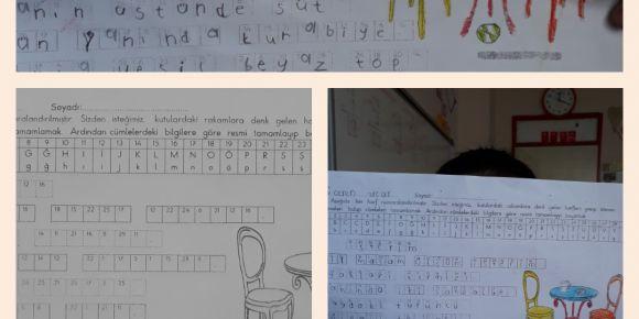 Alfabeyi kodladık